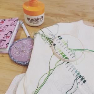コスモ刺繍糸サンプラー