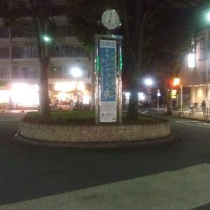 夜の自由時間散歩