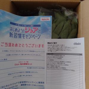 【当選】オイシックス旬の野菜セット