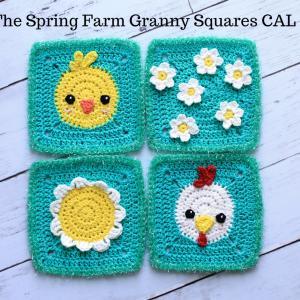 The Spring Farm Granny Squares CAL ~第二弾