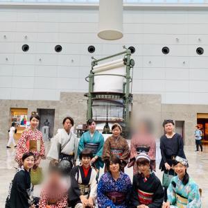 愛知キモノでジャックinトヨタ産業技術記念館