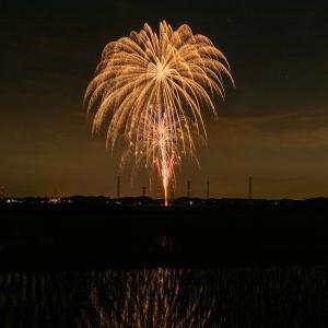 【富津市にて撮影】6月1日(月)に行われた「全国一斉悪疫退散祈願CHEER UP!花火プロジェクト」の様子