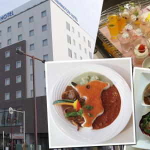 【デザート食べ放題付き!】木更津ワシントンホテル「ボンサルーテ」にて「チーバくん三色カレー」が7月1日(水)より販売されます。
