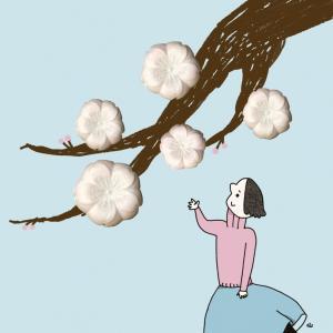 桜ひらひら仕事あわあわ