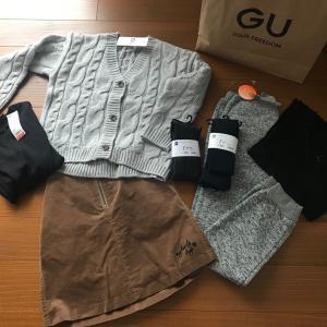GU で子供服を、お買い物〜。マラソンで欲しいもの。