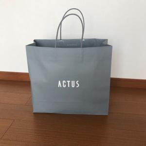 ACTUS初売りSALEでのお買い物🎵