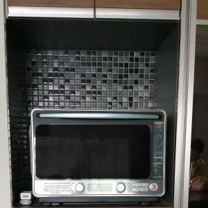 DIY キッチンにタイルを貼る その4完成