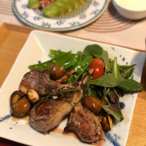 ♡バレンタインの夕食とお墓参り@おうちご飯&目黒