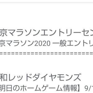 やっぱりコネー東京マラソン