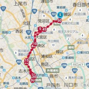 ロ~ング走50km