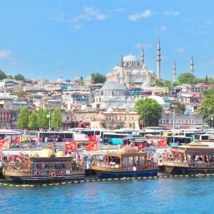 【イスタンブール】ボスポラス海峡と市場