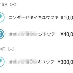 給付金入ってました。