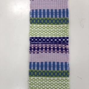 ラーヌ織りなど配色もすてきな@みんなの作品