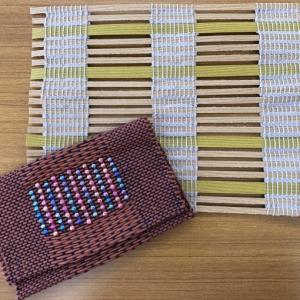 リビングアート手織りクラブ教材のご紹介 @みんなの作品