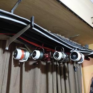 投げ竿の自宅保管用にロッドホルダーを自作する!