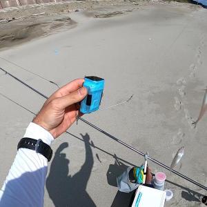 キスの投げ釣りでカメラ投げ込んで水中撮影してみた!