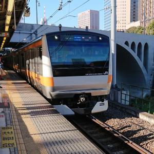 元祖E233系入線