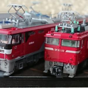 交流両用機関車集合!