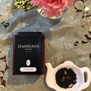 今日の紅茶教室~ダマンフレールNo.17・ 7パフューム~