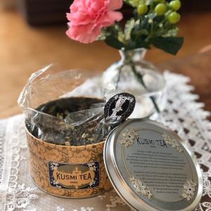 今日の紅茶~KUSMI TEAを使ってロイヤルミルクティー~