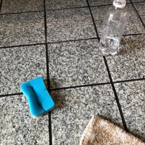 玄関掃除~水が流せない玄関もこの方法ですっきりキレイ~