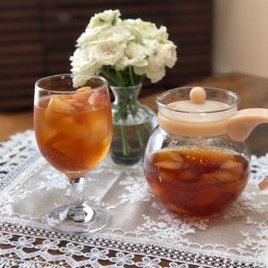 今日の紅茶~甘い桃の香り豊かなアイスピーチティー~
