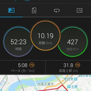 1月20日(大阪市10.1km)