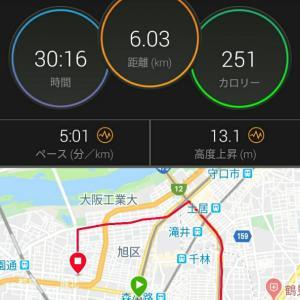 5月14日(大阪市6km)BU走