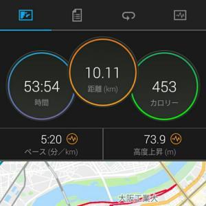 5月21日(大阪市10.1km)