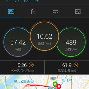 5月27日(大阪市10.5km)