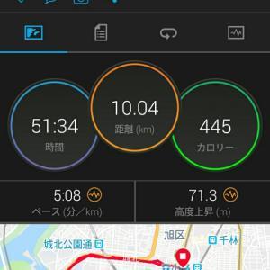 6月2日(大阪市10km)