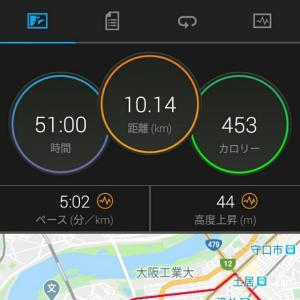 6月18日(大阪市10km)