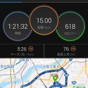 12月3日(大阪市15km)