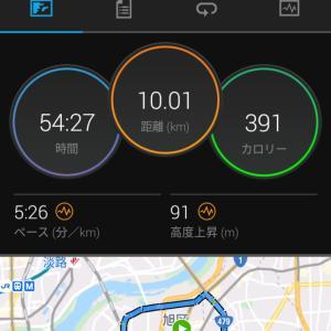 4月13日(大阪市10km)