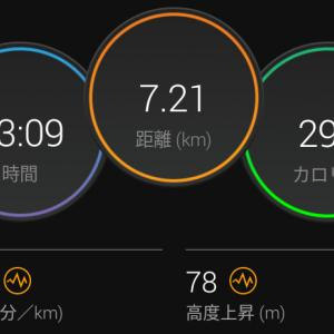 6月17日(大阪市7.2km)仕事の事
