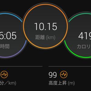 7月1日(大阪市10.1km)