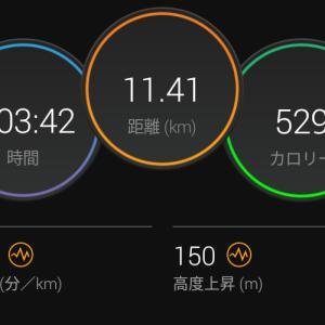 7月5日(大阪市11.4km)