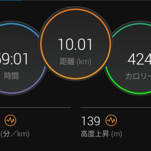 7月7日(大阪市10km)あと一歩