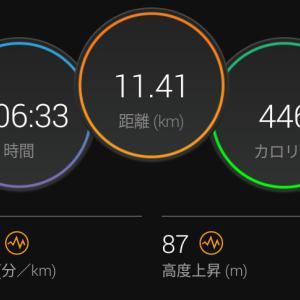 7月12日(大阪市11.4km)