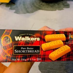これはたまらない♡walkersショートブレッド!