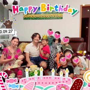 我が家で息子のお誕生日会♥︎♡♥︎♡♥︎