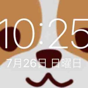 朝寝してる(^^)