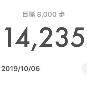 """""""""""""""""""(*Ü*)今週の歩数(*Ü*)"""""""""""""""""""
