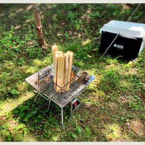 (*ˊᵕˋ*)暑かった\('ᴗ' )>キャンプに来てます(*ˊᵕˋ*)