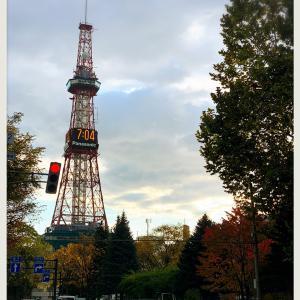 (*ˊᵕˋ*)さっぽろテレビ塔と秋(*ˊᵕˋ*)