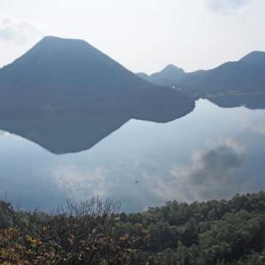 レンゲショウマ咲く榛名山系の杏ヶ岳