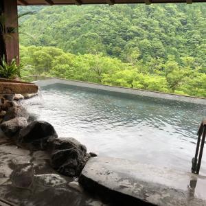 なかなかトレーナーお宿吟遊  その7露天風呂を紹介