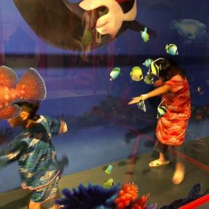 ホテル三日月藤美亭体験 その7   ゲームセンター9時で終了。怪獣がっかり。えー
