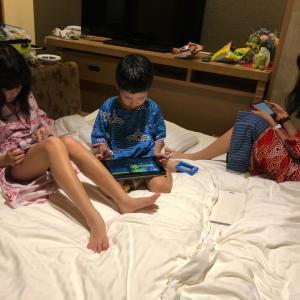 ホテル三日月藤美亭体験記その8 今日は敬老の日  みんな集まれ。