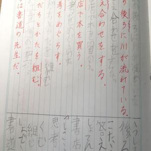 2年生の漢字がボロボロ